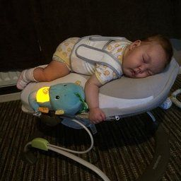 Babocush Newborn Tummy Time Comfort Cushion Featuring Heartbeat
