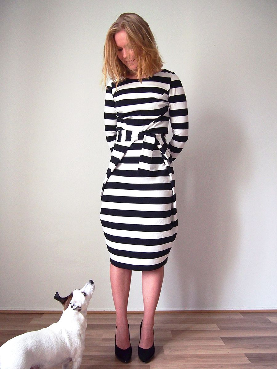 Kielo Wrap Dress - Named | SEWING | Pinterest | Wrap dresses, Wraps ...