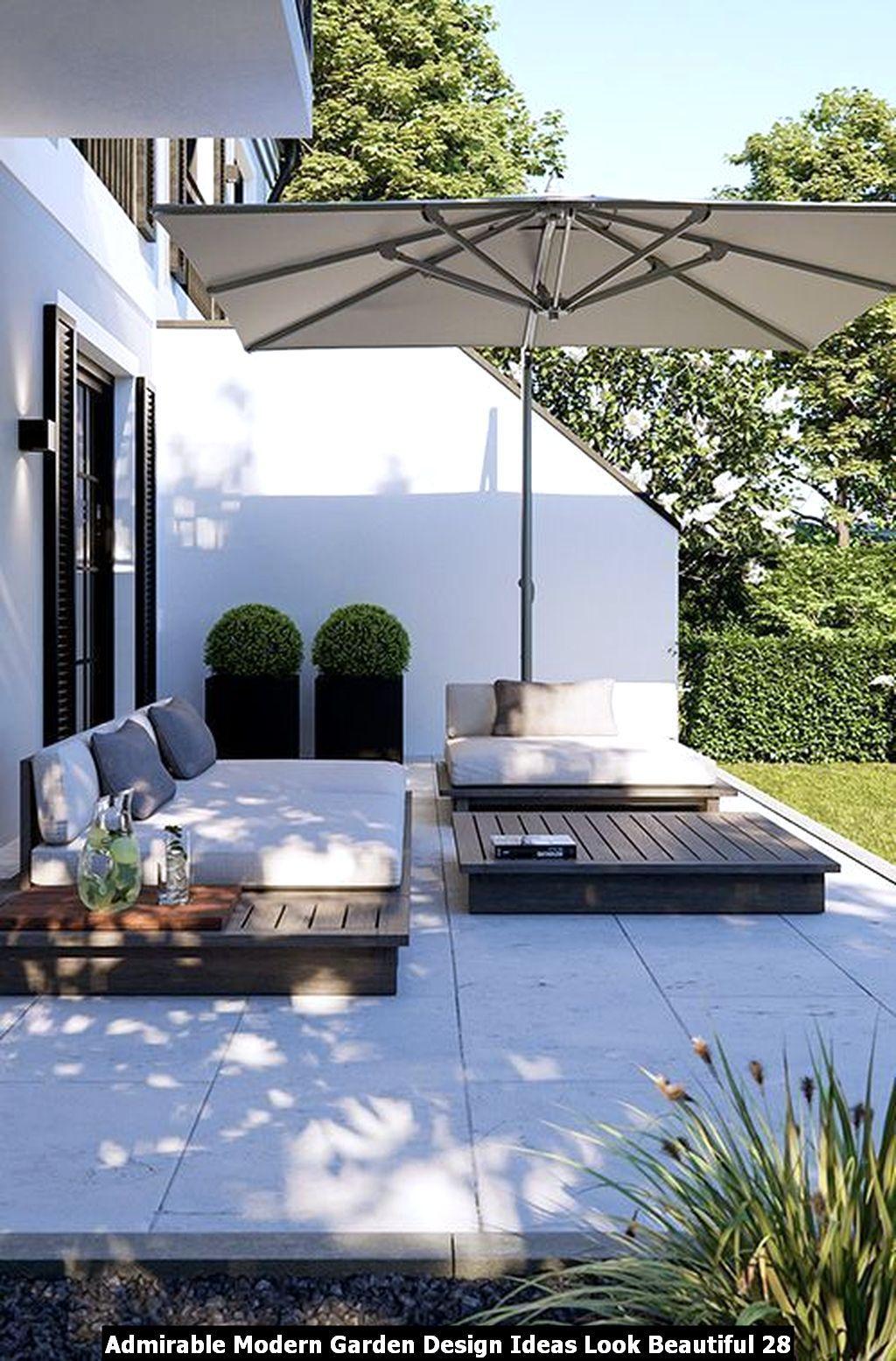 Admirable Modern Garden Design Ideas Look Beautiful Pimphomee Backyard Patio Designs Patio Design Outdoor Gardens Design