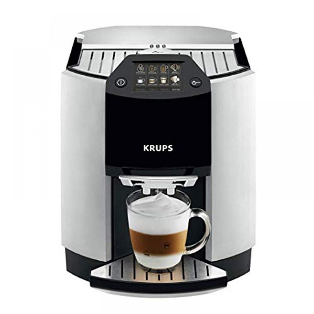 KRUPS EA9010 Fully Auto Cappuccino Machine Espresso Maker, Automatic Rinsing, Two Step Milk Frothing Technology, 57 Ounce, Silver #espressomaker KRUPS EA9010 Fully Auto Cappuccino Machine Espresso Maker, Automatic Rinsing, Two Step Milk Frothing Technology, 57 Ounce, Silver  Price: & FREE Shipping  #hashtag3 #cappuccinomachine