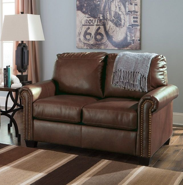 38000-37 Sofa Sleepers DuraBlend leather shown in twin, chocolate ...