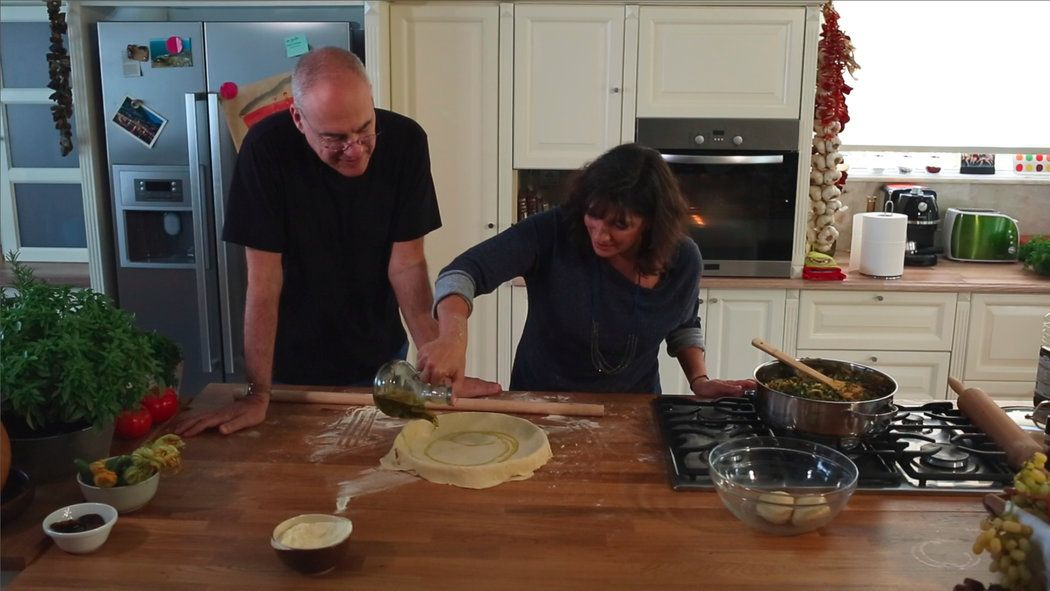 Video - The Rollout: An Ikarian Greens Pie _ Greek chef Diane Kochilas shows Mark Bittman how to prepare a traditional pie loaded with fresh greens. And in Greece, that means preparing a hand-rolled phyllo dough laced with olive oil.