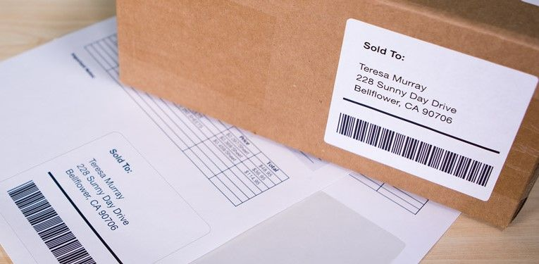 Simplify your shipping process with shipping labels + packing slips