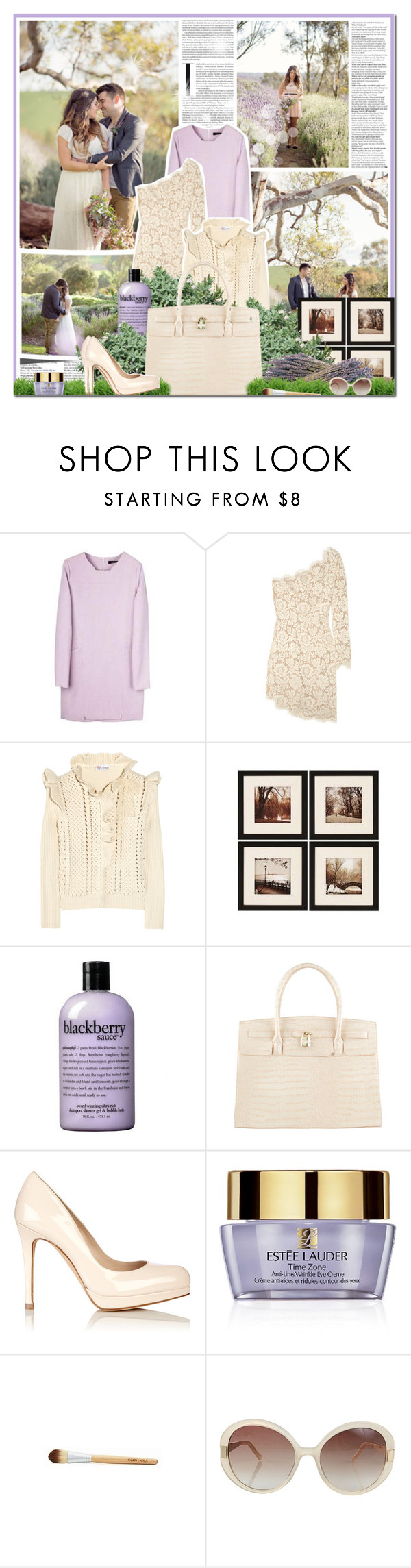 """""""(Everything I Do) I Do It For You"""" by lilylo ❤ liked on Polyvore featuring STELLA McCARTNEY, RED Valentino, WALL, philosophy, ALDO, L.K.Bennett, Estée Lauder and Oscar de la Renta"""