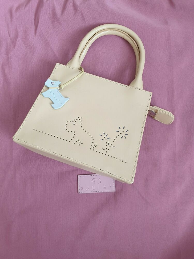 Radley Bag In Yellow Used Once Still