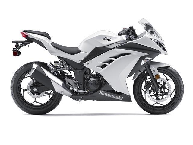Kawasaki Ninja 300 ugh what I want  :/