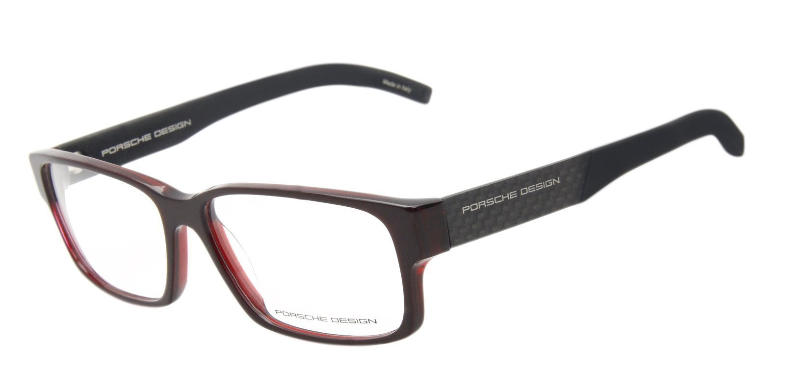 a5f89f574c3 Porsche Design - P8241 Red-eyeglasses-Designer Eyes