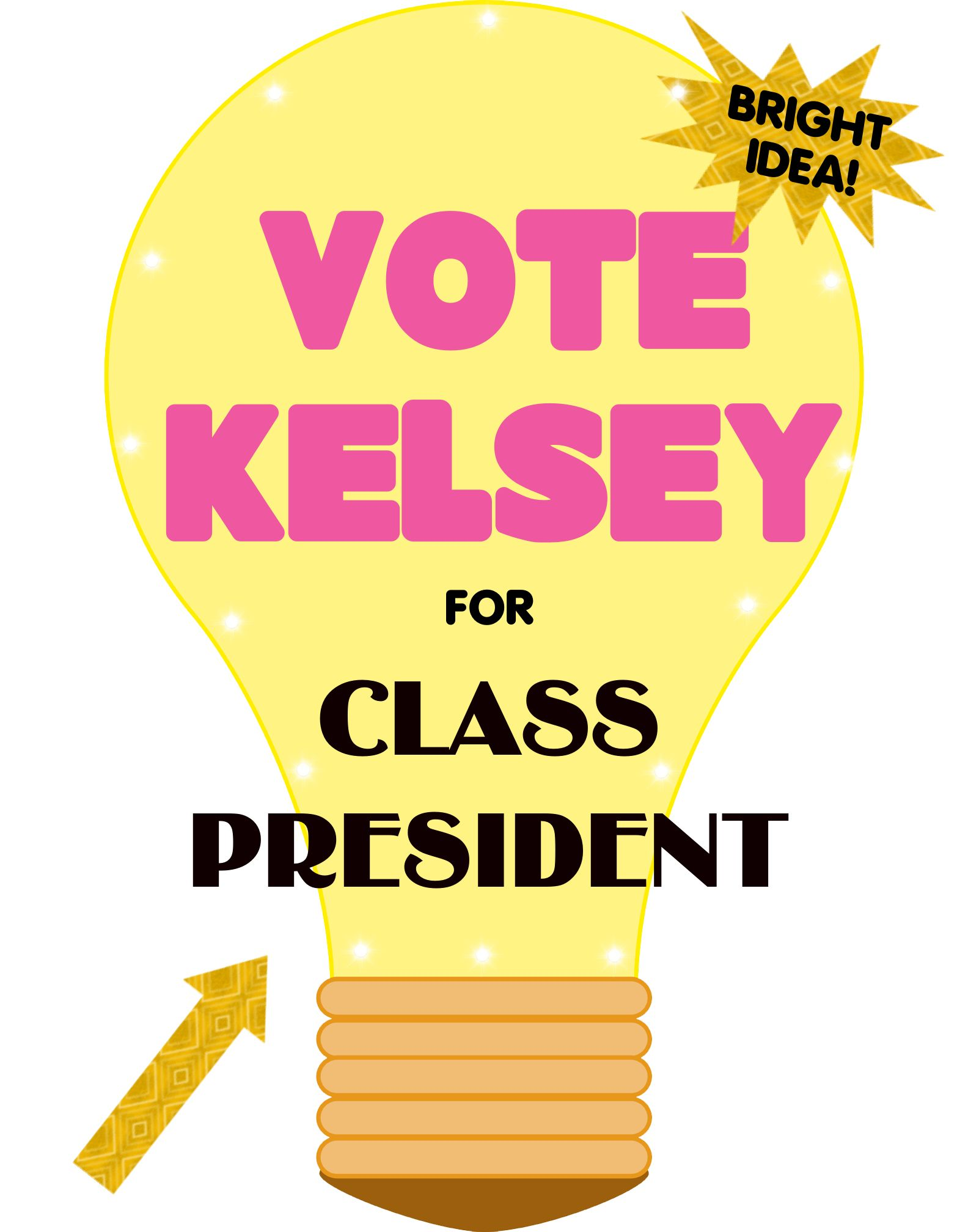 Vote For Me Posters Ideas For Kids | www.imgkid.com - The ...
