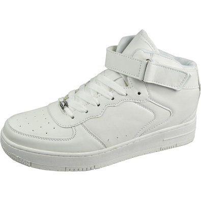 88ed1a6888ab3 Amazon.com: Air Balance Mens High Top Lace Up Velcro White ... | diy ...