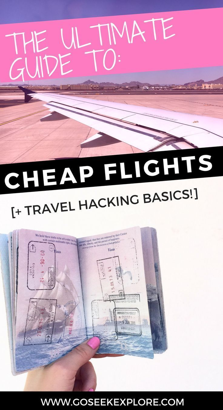 Ultimate Guide to Cheap Flights and Travel Hacking Basics ...