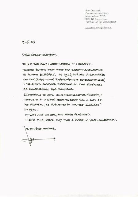 handwritten cover letter samples