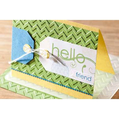 Hello Friend Card-Images © 2012 Stampin' Up!®