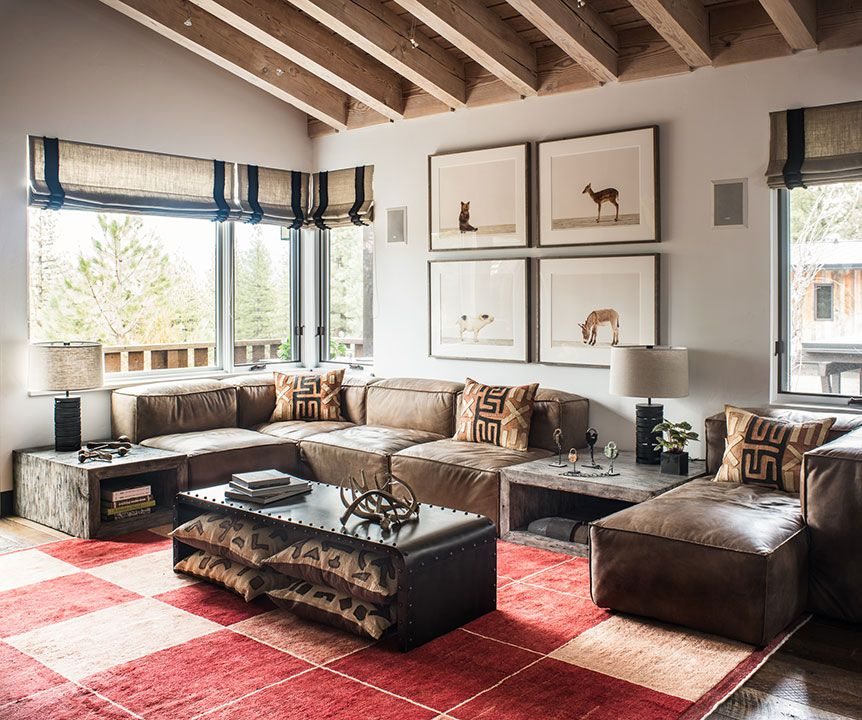 Baby Animals Sharon Montrose / Tahoe Residence /Living Room / Antonio  Martins Interior Design