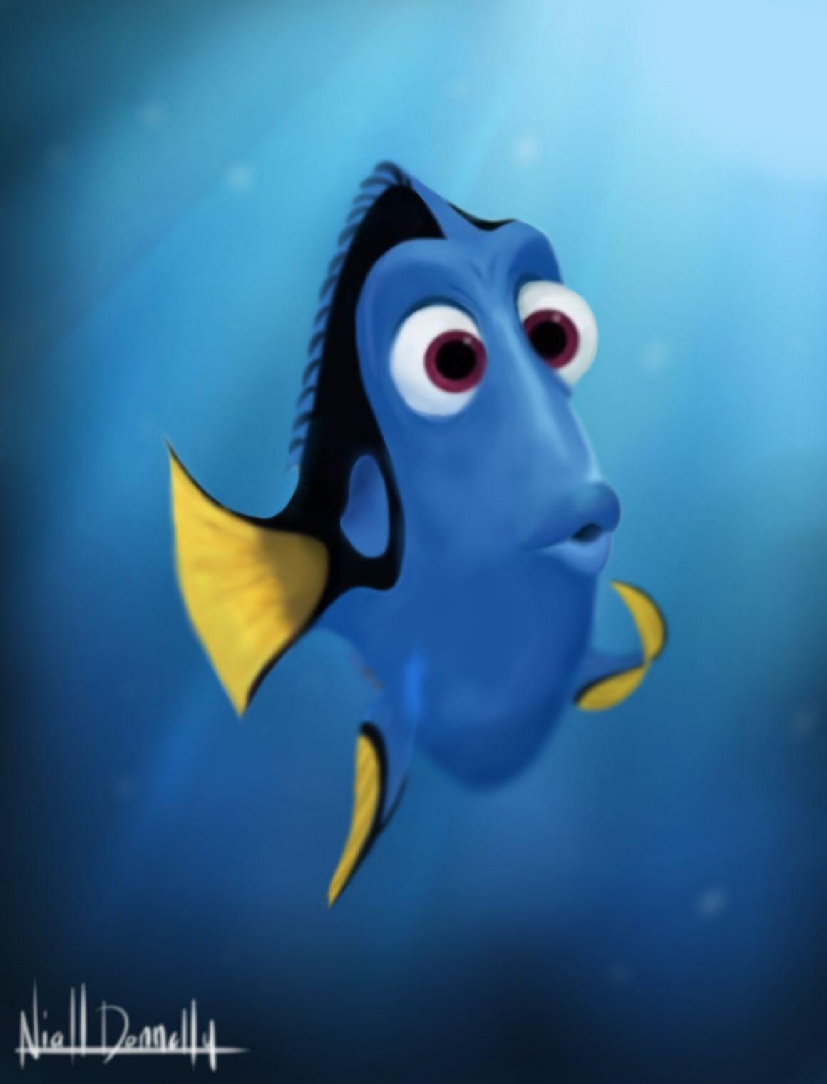 Finding Nemo Dory by TheAvengedEvil on deviantART