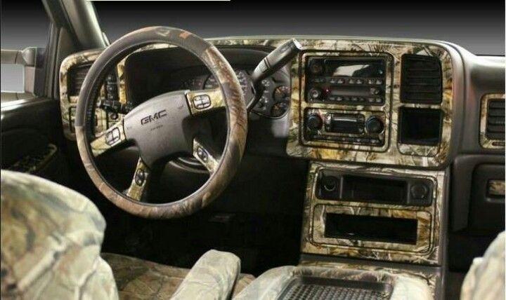 Mossy Oak Camo Truck Interior Camo Truck Camo Truck
