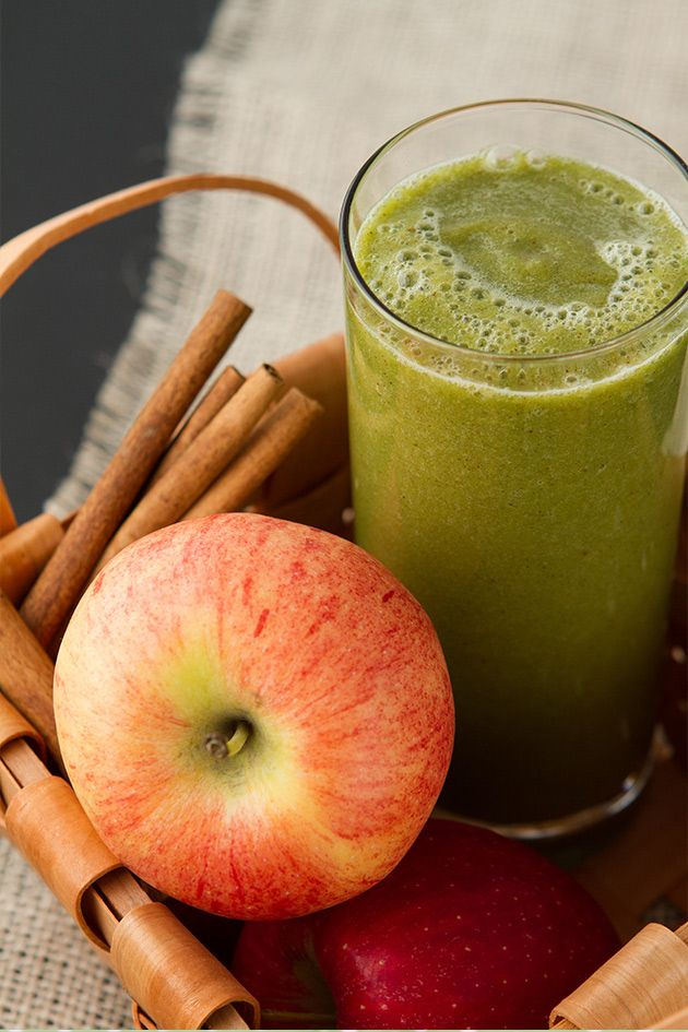 Spiced Apple Smoothie from Vibrant Life Cleanse Program + Cookbook | Healthful…