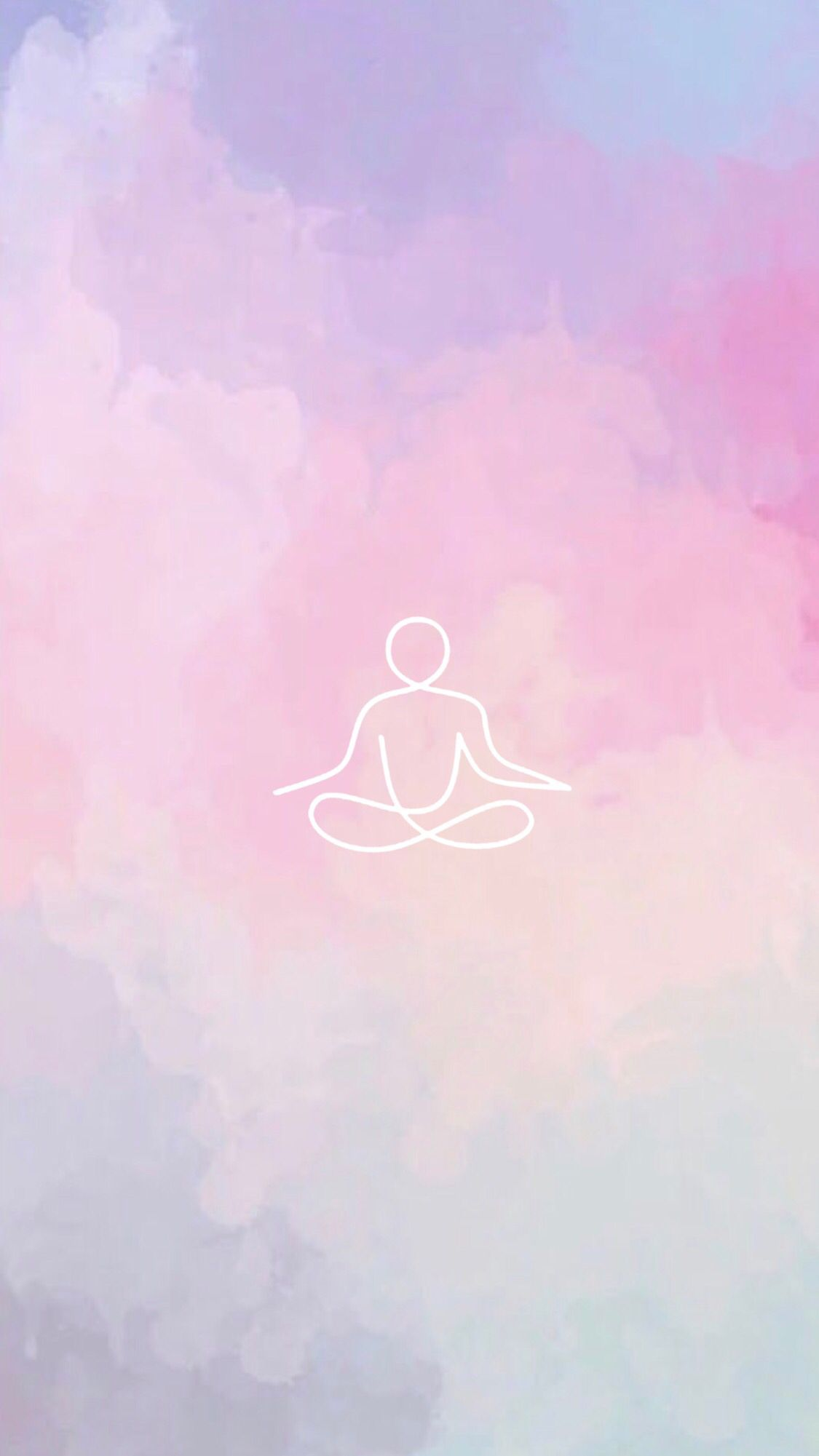 Yoga Cover Instagram In 2020 Iphone Wallpaper Yoga Yoga Art Painting Yoga Background