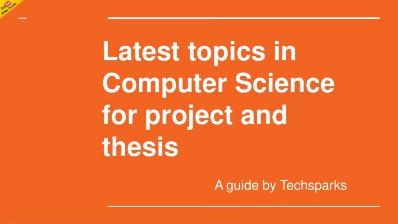 Pin By Techspark On M Tech Thesi Computer Science Phil Dissertation Topic In English