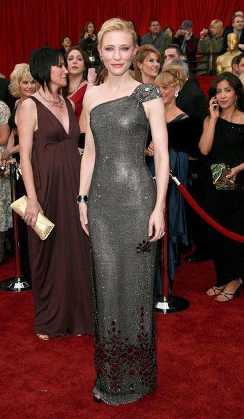 bc59f225374 Cate Blanchett in Giorgio Armani - 2007, oscars, The Best Oscar Dresses Ever,  red carpet