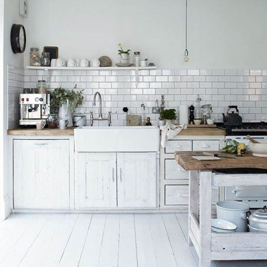 Kitchen Wall Shelves | ... Modern Kitchen Decorating Ideas, Open Kitchen  Shelves For