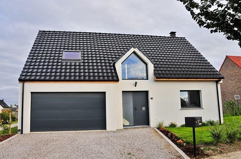 faire construire une maison moderne maisons france confort - Maison A Construire Moderne