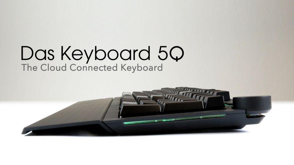 Bulut Bağlantılı Klavye: Das Keyboard 5Q