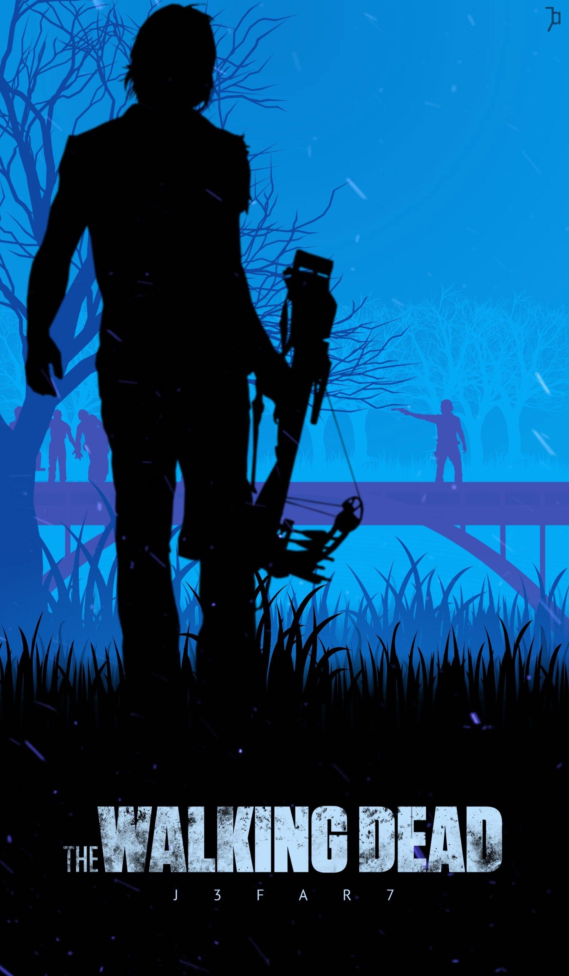 Rick S End Twd Cesar Jaffar The Walking Dead Poster Walking Dead Fan Art Daryl Dixon Walking Dead