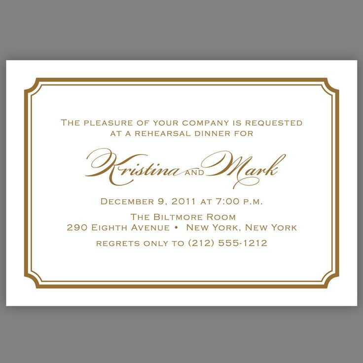formal dinner invite - Google Search painting 2 Pinterest - dinner invitations templates