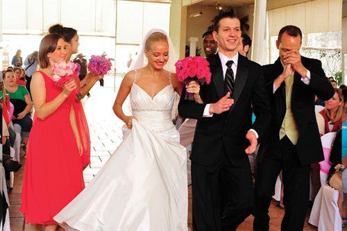 Premier Bridal Shows' Dancing Down the Aisle Fashion Show with South Coast Dancesport at the Radisson Newport Beach