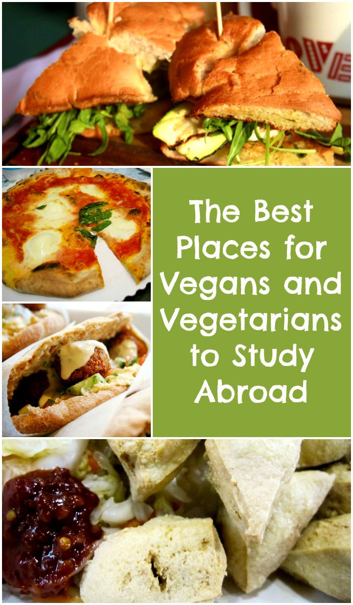 Eating abroad doesn't have to be hard if you have special dietary needs! Sending love to all the vegans and vegetarians out there with this list of awesome places to study abroad that are friendly to your non-meat needs. Get excited! #vegan #vegetarian #studyabroad