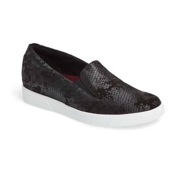 Munro Snake Print Slip On Sneakers Womans 10.5 Comfort Shoes