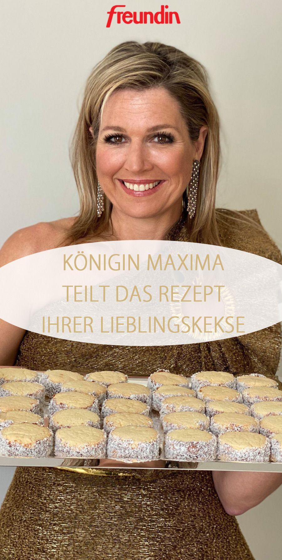 Königin Maxima teilt das Rezept für ihre Lieblingskekse | freundin.de