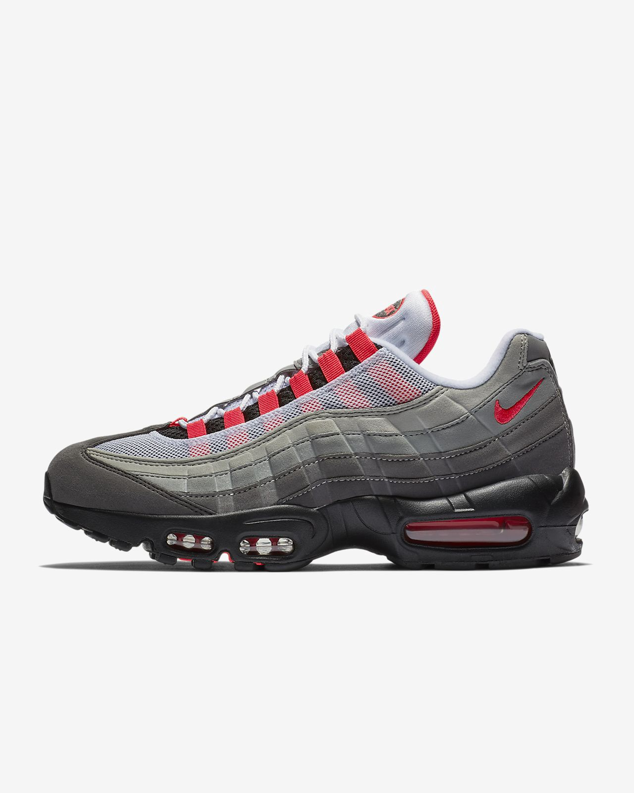 online store ac074 26c58 Nike Air Max 95 Og Shoe - M 10   W 11.5 Red