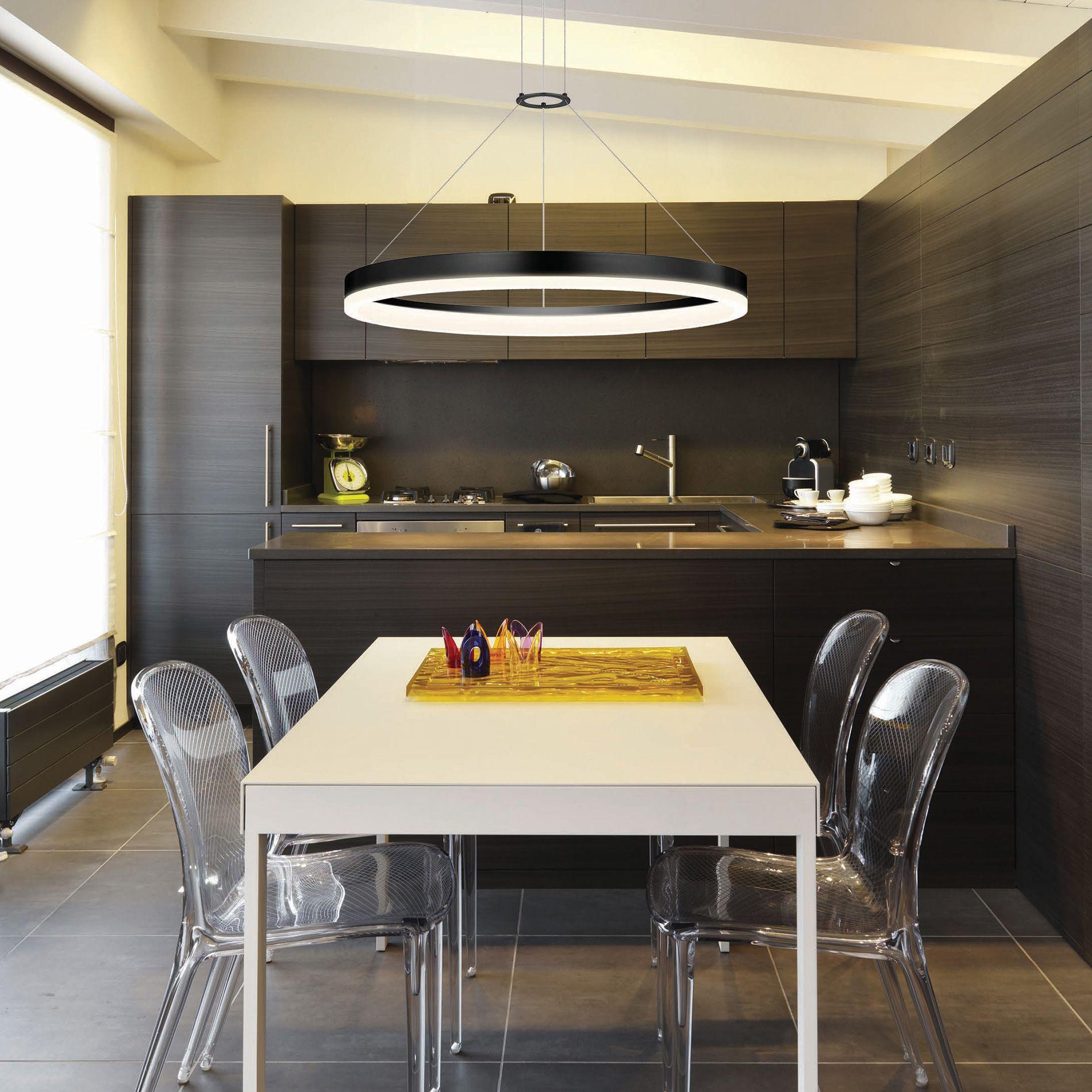 Corona Led Ring Pendantsonneman Lighting  Lighting Love It Classy Hanging Dining Room Lights Design Ideas
