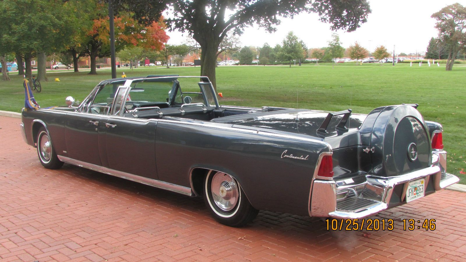 1961 Lincoln Continental Parade Limousine By Hess Eisenhardt