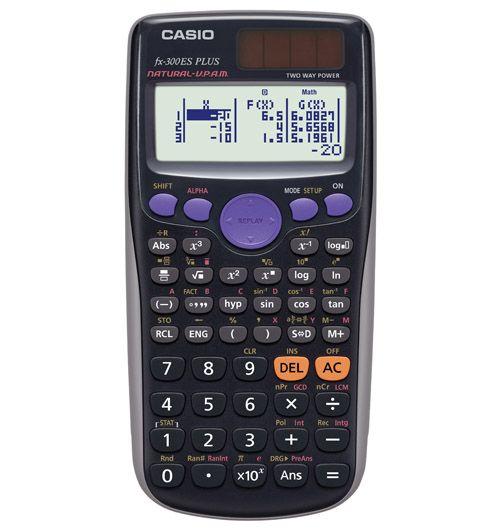 Casio Fx 300es Plus Calculator Black Parcc 8th Gr Caaspp Scientific Calculators Algebra Calculator Calculator