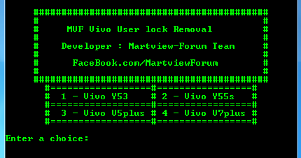 DownloadMVF Vivo User Lock Removal Tool Feature: Pettern Lock Reset