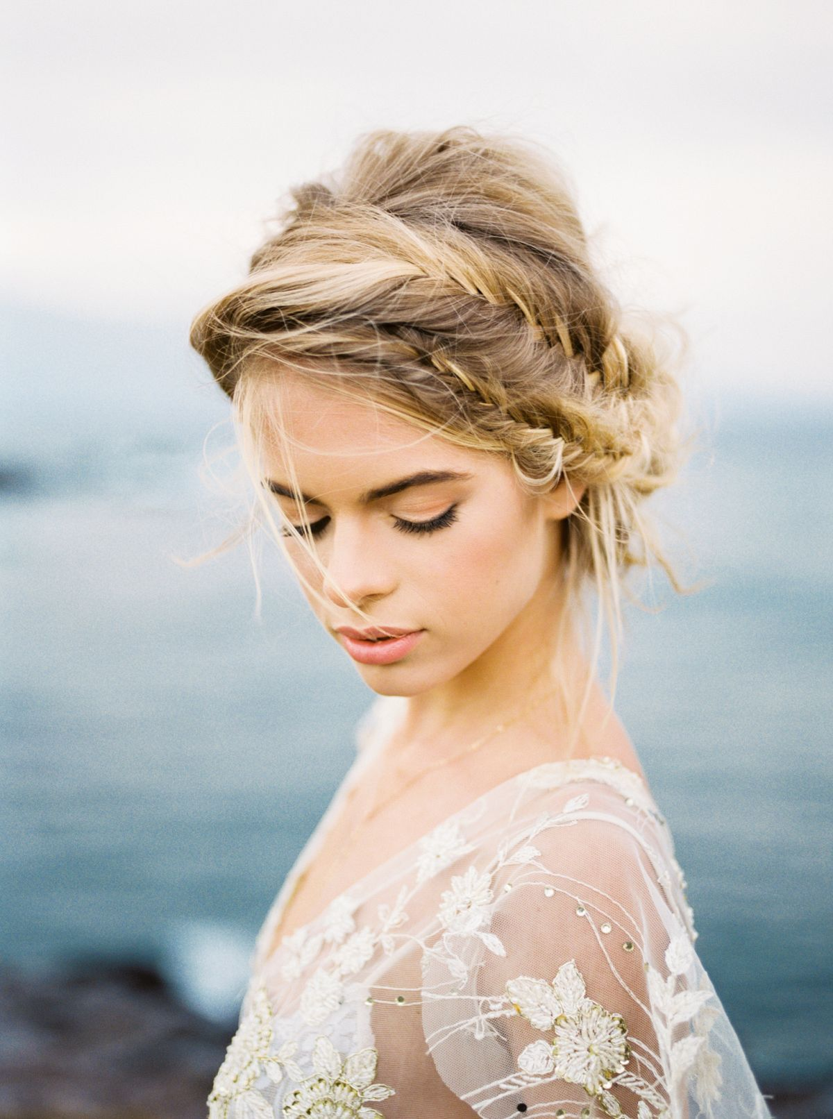 Blush and gold bridal inspiration in maui wedding sparrow