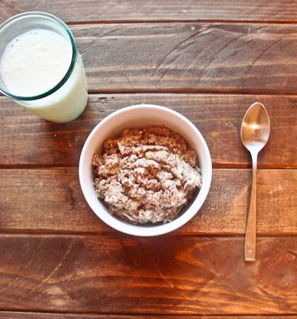 Oat-less 'oatmeal' #athletefood