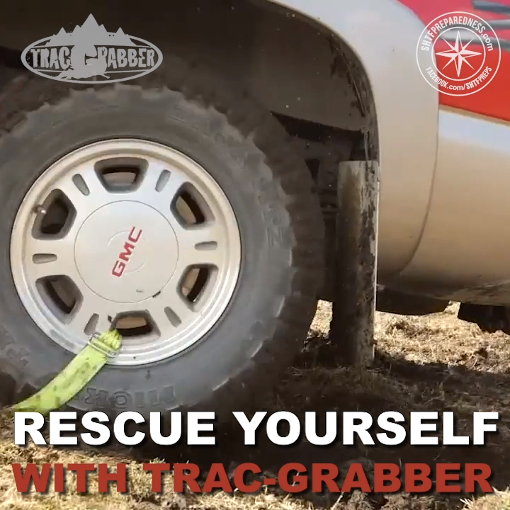 Rescue Yourself with Trac-Grabber