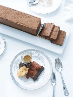 double chocolate mousse. donna hay