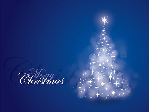 Blue Christmas Card Giant Christmas Cards Corporate Christmas Cards Blue Christmas