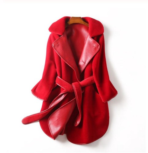 Yummilicious Red Leather Jacket Real Leather Jackets for Women
