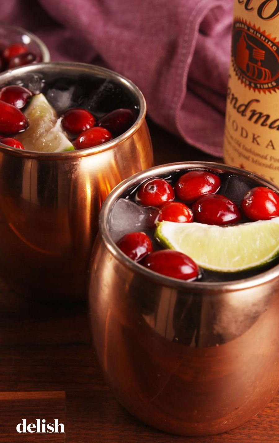 You Should Have A Cranberry Mule In Your Hand All Thanksgiving Day Recipe Thanksgiving Cocktails Thanksgiving Drinks Mixed Drinks Recipes