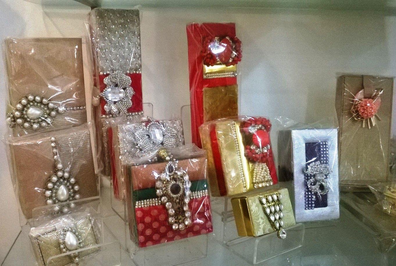 Range of PrettyPackings products Designer Jewellery box
