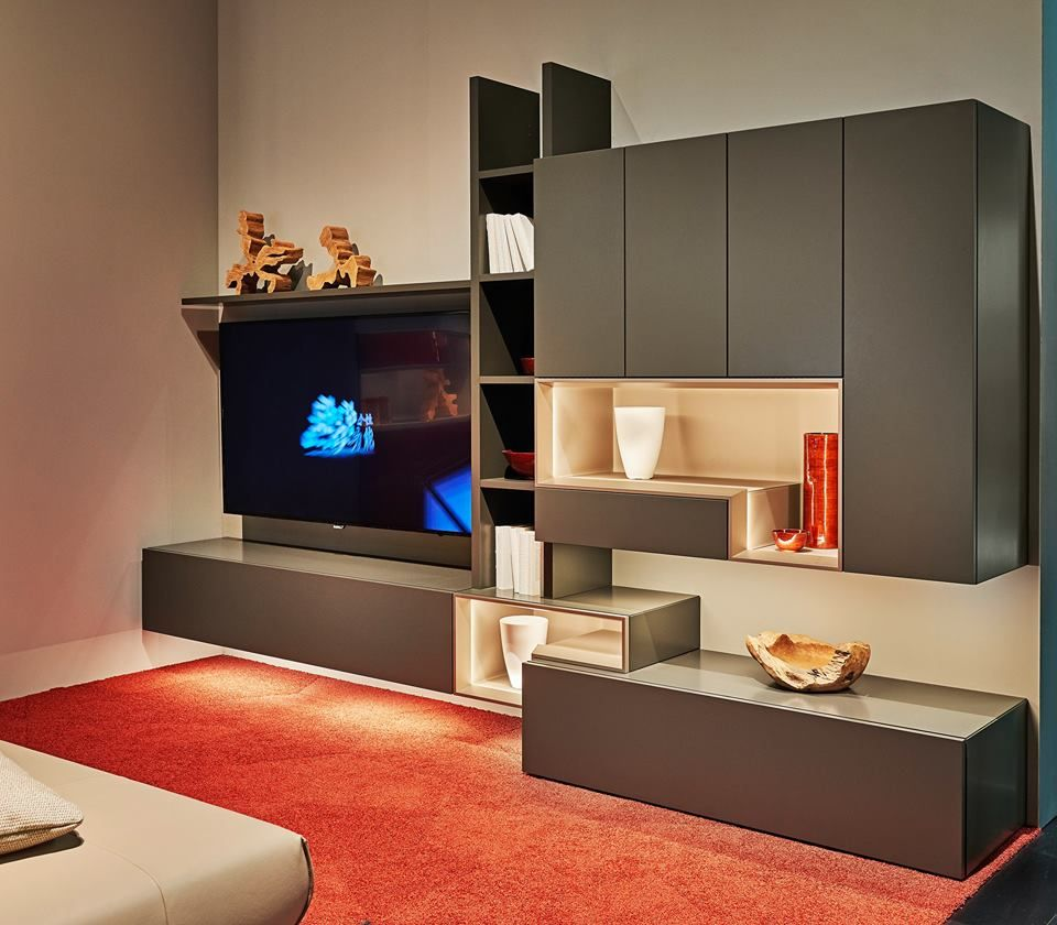 Neo Line By Huelsta Cool Living Rooms Pinterest Tv Walls  # Muebles Neoline