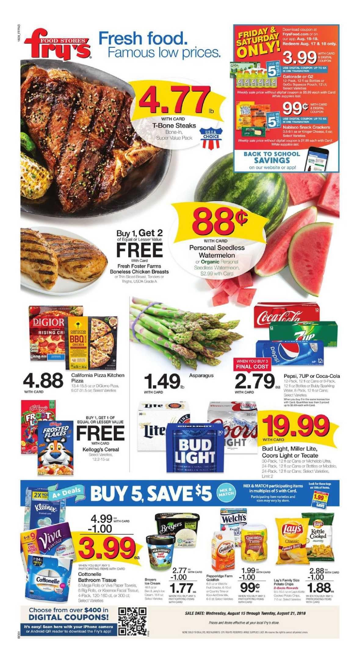 Frys food weekly ad flyer apr 14 apr 20 2021