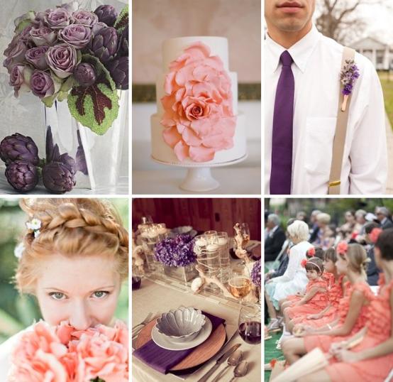 Coral bouquet | coral wedding inspiration | summer wedding ideas