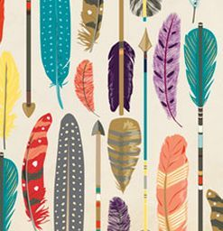 Feathers Wrapping Paper