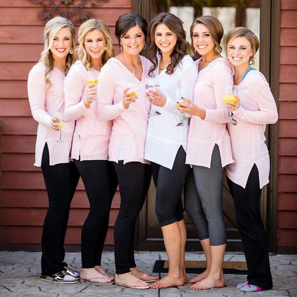 Trending Now 25 Matching Getting Ready Outfits For Bridesmaids Bridesmaid Get Ready Outfit Bridal Party Outfit Bridal Party Getting Ready